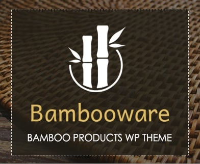Bambooware - Bamboo Products WordPress Theme & Template