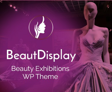 Beaut Display - Beauty Exhibitions WordPress Theme & Template