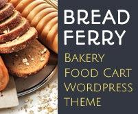 Bread Ferry - Bakery Food Cart WordPress Theme & Template
