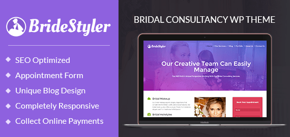 Bridal Consultancy WordPress Theme