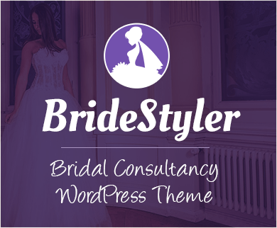 Bride Styler - Bridal Consultancy WordPress Theme & Template