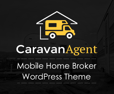 Caravan Agent - Mobile Home Broker WordPress Theme & Template