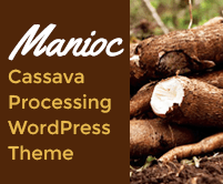 Manioc - Cassava Processing WordPress Theme & Template