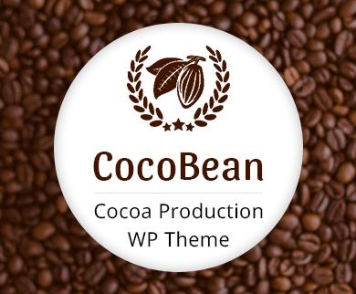 Coco Bean - Cocoa Production WordPress Theme & Template