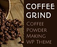 Coffee Grind - Coffee Powder Making WordPress Theme & Template