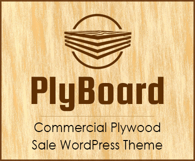 Ply Board - Commercial Plywood Sale WordPress Theme & Template