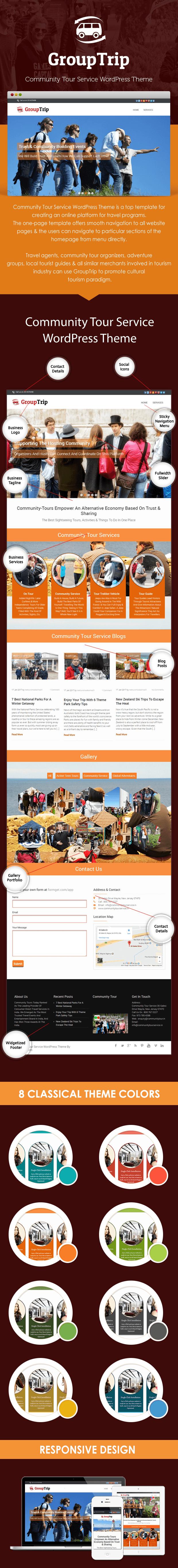 Community Tour Service - Sale page