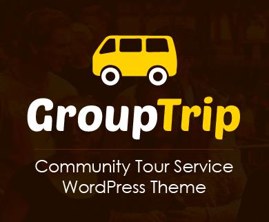 Group Trip - Community Tour Service WordPress Theme & Template