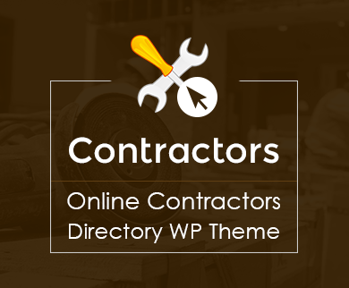Contractor - Online Contractors Directory WordPress Theme & Template