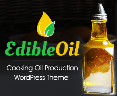 Edible Oil - Cooking Oil Production WordPress Theme & Template
