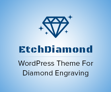 Etch Diamond - Diamond Engraving WordPress Theme & Template