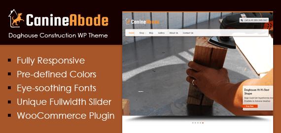 Doghouse Construction WordPress Theme & Template