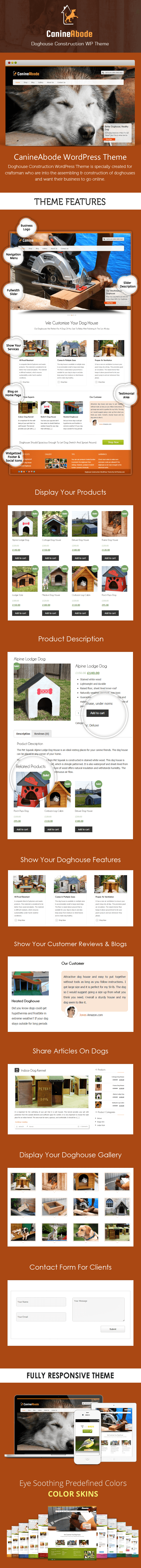 Doghouse Construction WordPress Theme