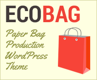 Eco Bag - Paper Bag Production WooCommerce WordPress Theme & Template