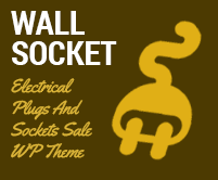 Wall Socket - Electrical Plugs And Sockets Sale WordPress Theme & Template