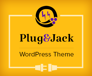 Plug & Jack - Electrical Cable Connection WordPress Theme & Template