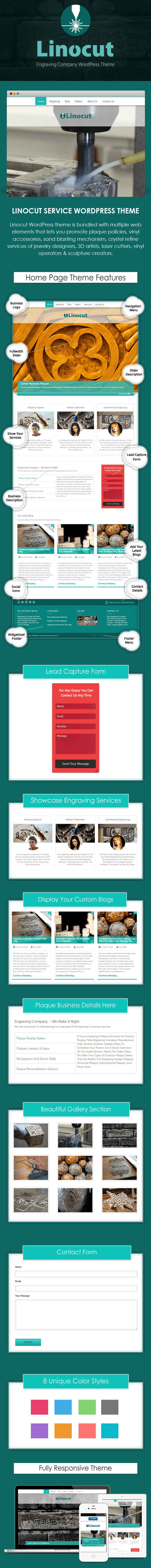 Engraving WordPress Theme