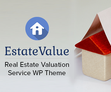 EstateValue - Real Estate Valuation Service WordPress Theme & Template