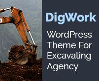 Dig Work - Excavating Agency WordPress Theme & Template