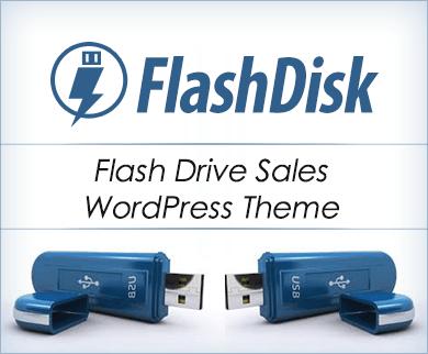 Flash Disk - Flash Drive Sales WordPress Theme & Template