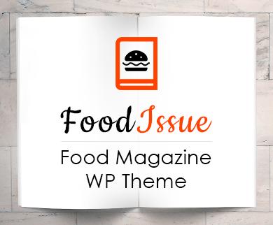 Food Issue - Food Magazine WordPress Theme & Template
