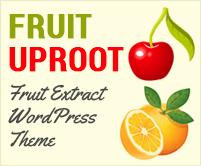 Fruit Uproot -  Fruit Extract WordPress Theme & Template