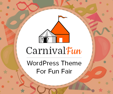 Carnival Fun - Fun Fair WordPress Theme & Template