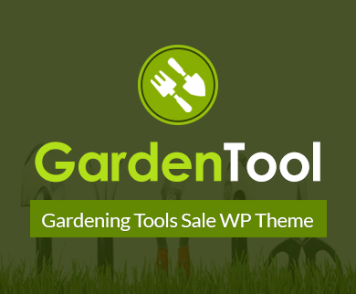 Garden Tool - Gardening Tools Sale WordPress Theme & Template