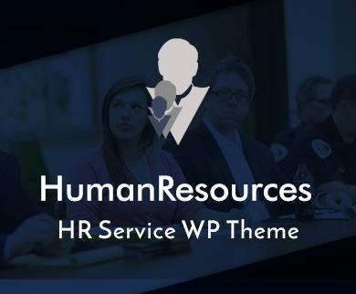 Human Resources - Hr Service WordPress Theme & Template