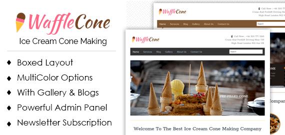 Ice cream cone making wordpress theme template inkthemes ice cream cone making wordpress theme template ccuart Choice Image