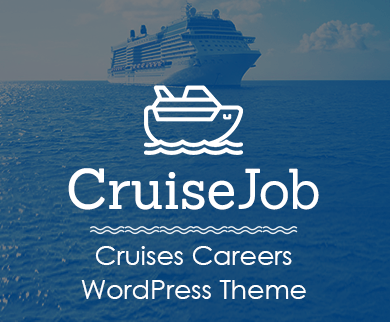 Cruise Job  - Cruises Careers WordPress Theme & Template