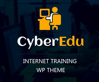 Cyber Edu - Internet Training WordPress Theme & Template