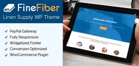 Linen Supply WordPress Theme