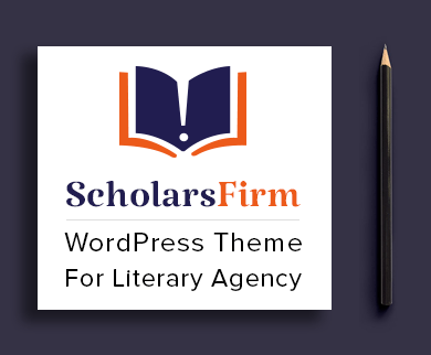 Scholars Firm - Literary Agency WordPress Theme & Template