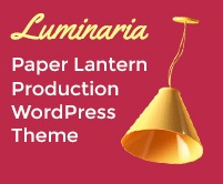 Luminaria - Paper Lantern Production Ecommerce WordPress Theme & Template