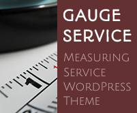 Gauge Service - Measuring Service WordPress Theme & Template