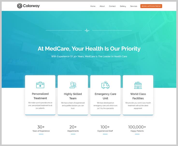 Colorway- Lightweight WordPress Theme