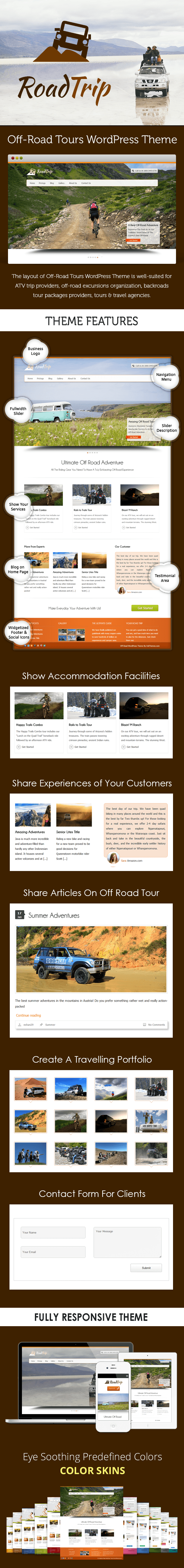 Off-Road Tours WP Theme