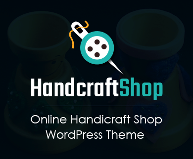 Handcraft Shop - Online Handicraft Shop WordPress Theme & Template