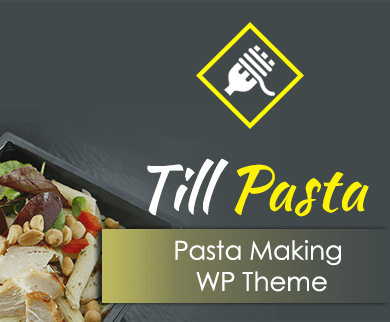 Till Pasta - Pasta Making WordPress Theme & Template