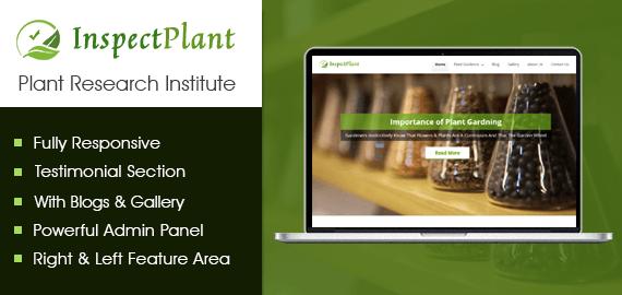 Plant Research Institute WordPress Theme