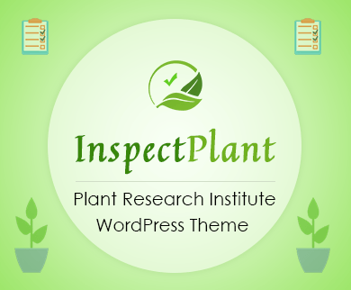 Inspect Plant - Plant Research Institute WordPress Theme & Template