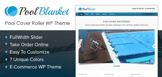 Pool Blanket – Pool Cover Roller Sale WordPress Theme