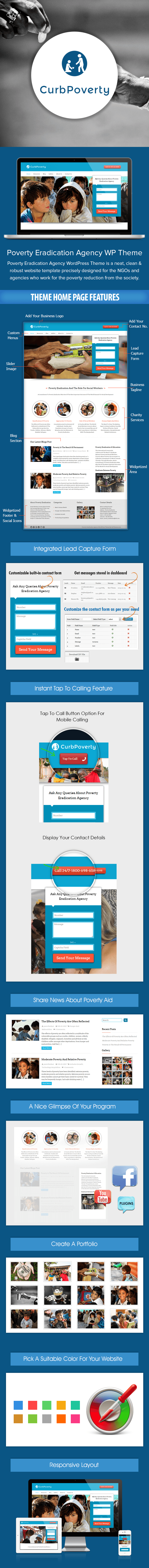 Poverty Eradication Agency WordPress Theme Sales