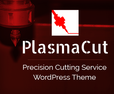 Plasma Cut - Precision Cutting Service WordPress Theme & Template