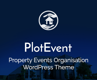 Plot Event - Property Events Organisation WordPress Theme & Template