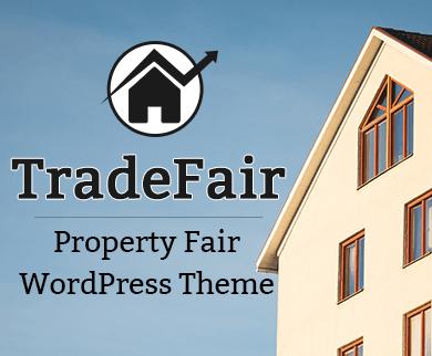 Trade Fair - Property Fair WordPress Theme & Template