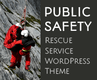 Public Safety - Rescue Service WordPress Theme & Template