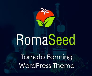 Roma Seed - Tomato Farming WordPress Theme & Template