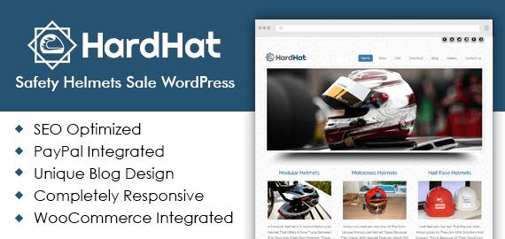 Safety Helmets Sale WordPress Theme